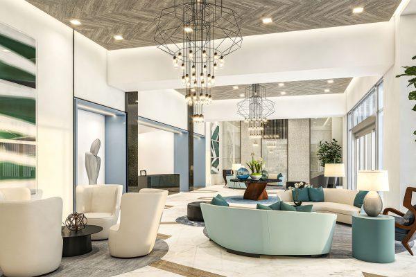 Artist's Rendering of Grand Lobby