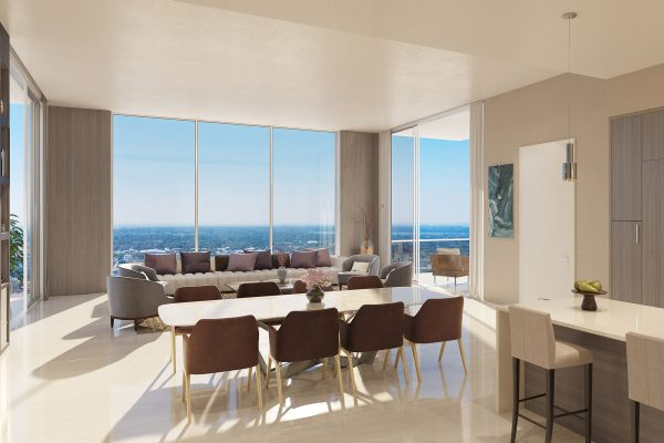 Artist's Rendering of Cobalt South Tower Residence