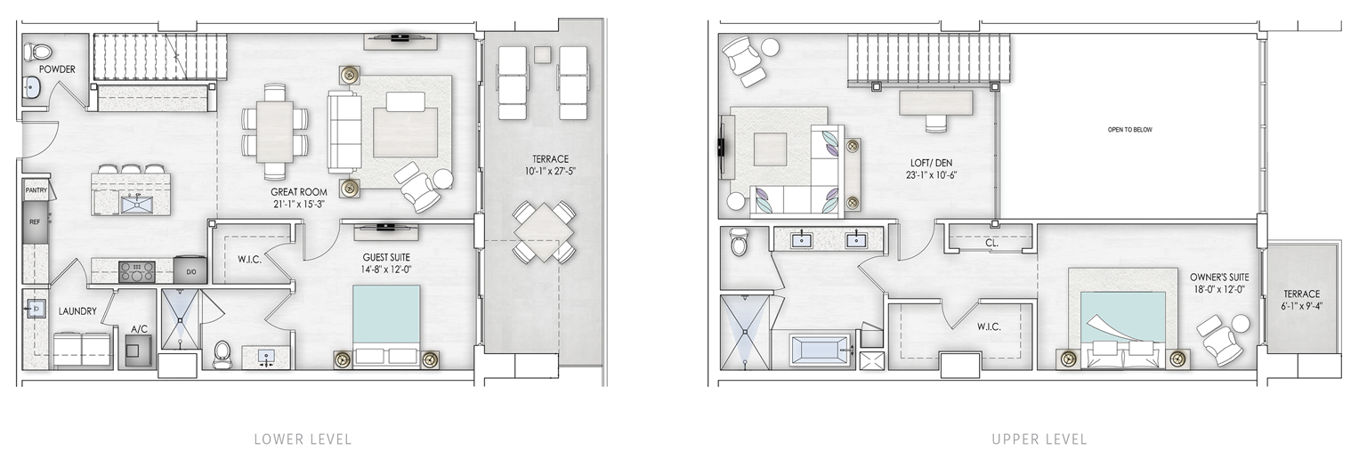 Liner Unit 3 floorplan