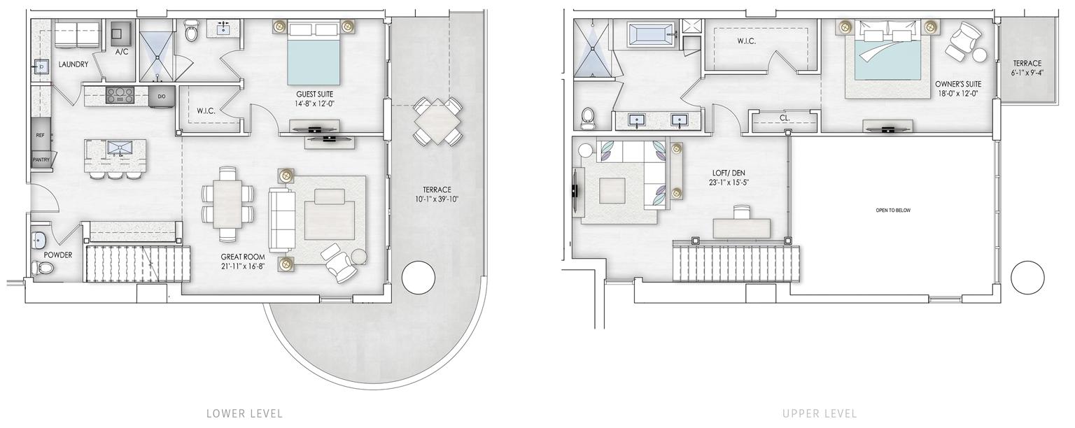 Liner Unit 5 floorplan
