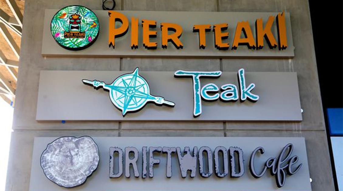 Pier Teaki - New St. Pete Pier