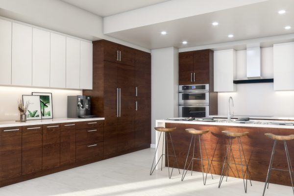 Artist's Rendering of Deep Sky North Tower Kitchen