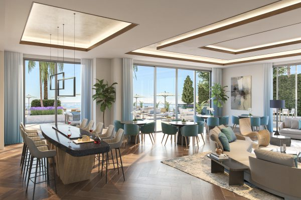 Artist's Rendering of Residents Club Room
