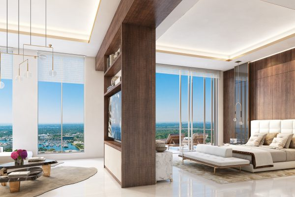 Artist's Rendering of Royal South Penthouse Owner's Suite