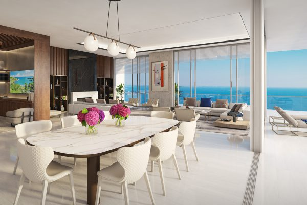 Artist's Rendering of Royal South Penthouse Great Room