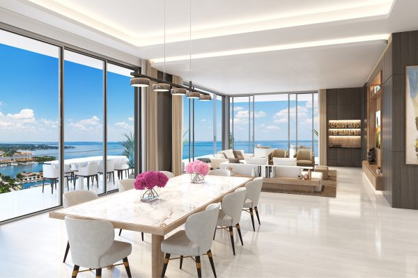 Artist's Rendering of Royal North Penthouse - Great Room