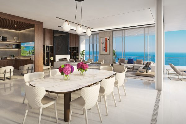 Artist's Rendering of Royal South Penthouse - Great Room
