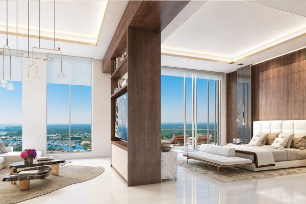 Artist's Rendering of Royal South Penthouse - Owner Suite