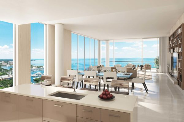 Artist's Rendering of Azure North Tower Residence