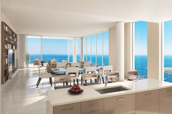 Artist's Rendering of Azure South Tower Residence